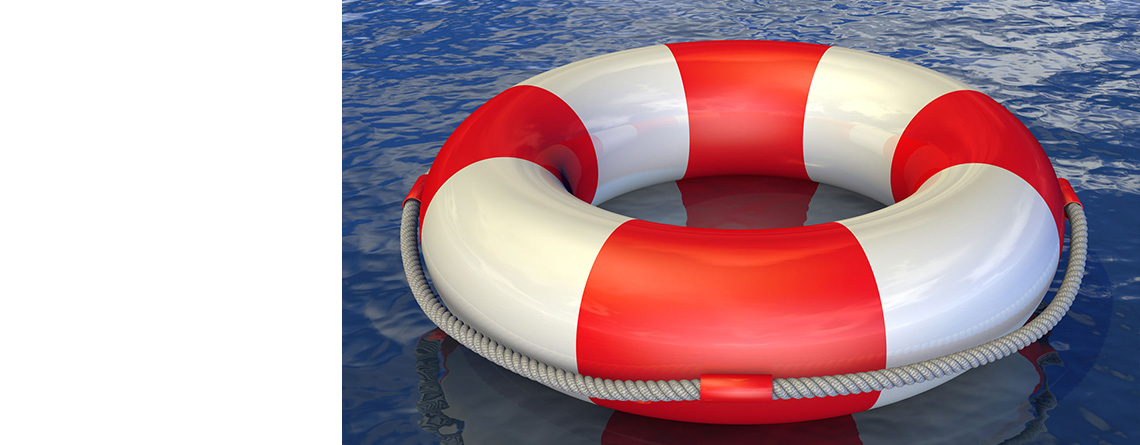 …the right lawyer will keep you afloat